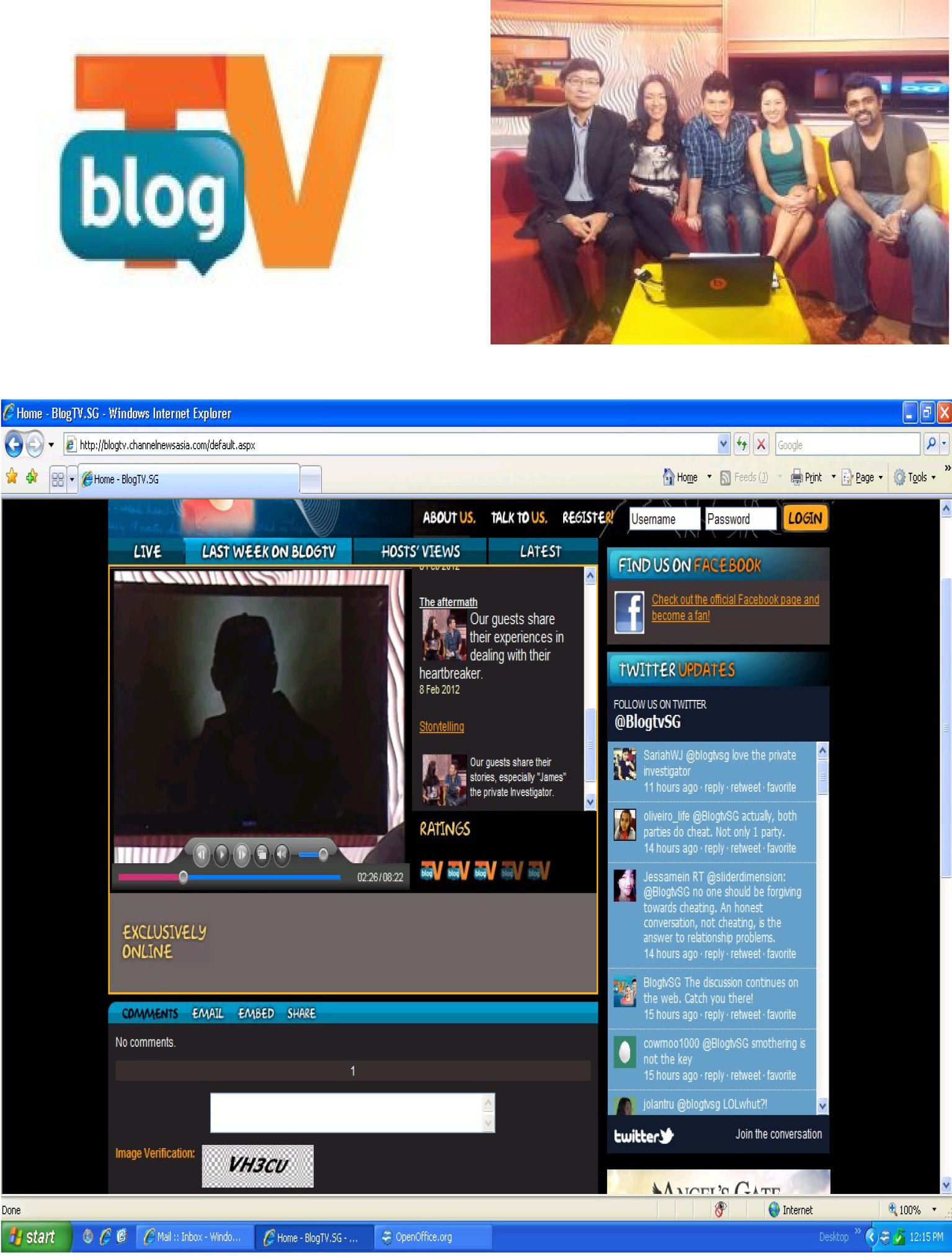 BlogTV.sg